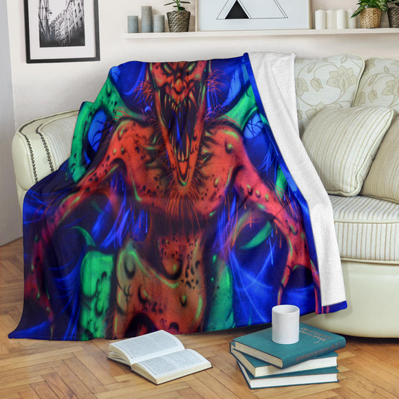 Premium Blanket - Horned Imp - Express Shipping