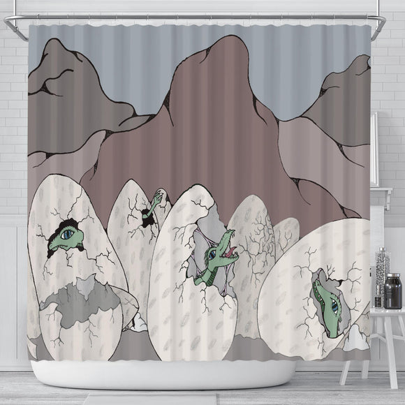 Shower Curtain - Slaya Collection - Dragon Eggs
