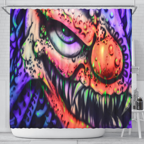 Shower Curtain - Clown