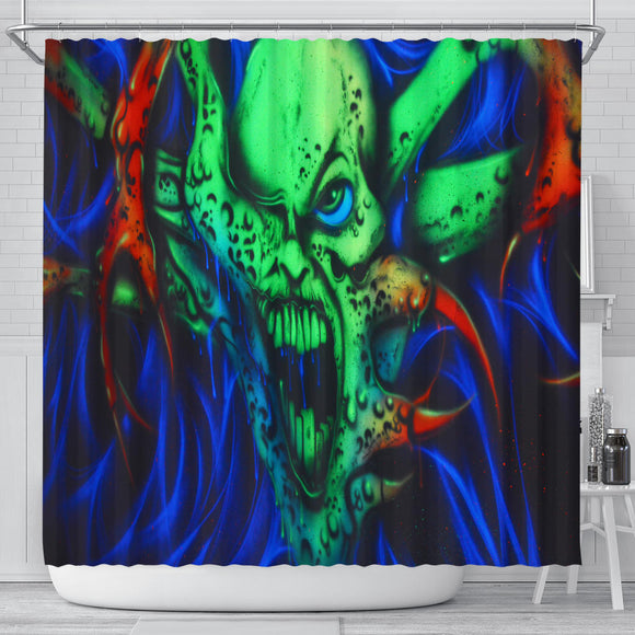 Shower Curtain - One Eyed Menace