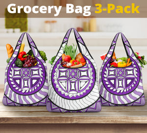 Grocery Bag 3 pack - Slaya Collection - Flywheel Pack purple #4