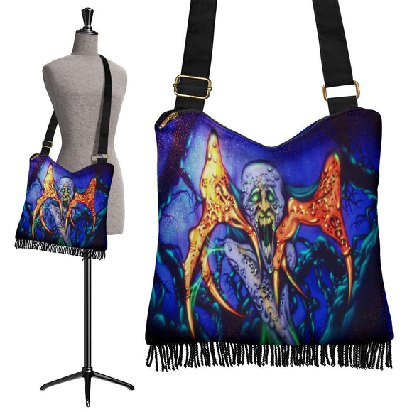 Crossbody Boho Handbag - Monster Claw