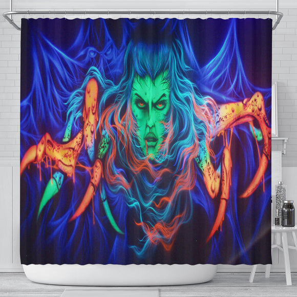 Shower Curtain - Spider Woman