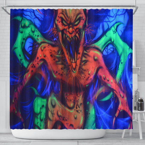Shower Curtain - Horned Imp