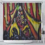 Shower Curtain - Creeper Clown