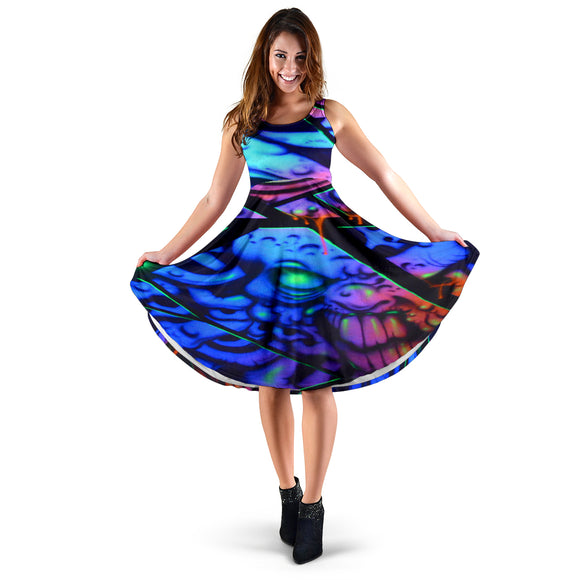 Women's Dress - Fractal Glare - Express Shipping