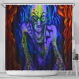 Shower Curtain - Creepy Ghoul