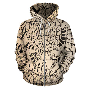 All Over Zip-up Hoodie - 2021 Drawing 11