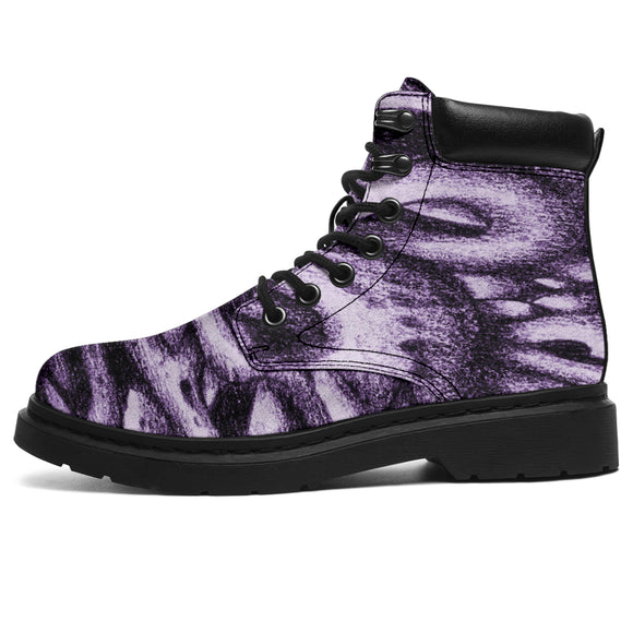 All Season Boots - Drawing 001 purple