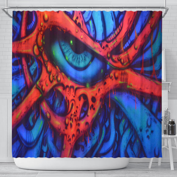 Shower Curtain - Eyeball