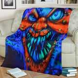 Premium Blanket - Toothy Clown