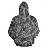 All Over Hoodie - BW 4
