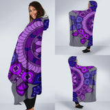 Economy Hooded Blanket - Slaya Collection - Butterfly Medallion