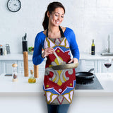 Women's Apron - Slaya Collection - Red Blue Star