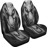 Car Seat Covers - Smiley Clown b/w