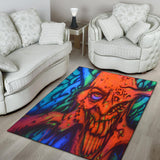 Area Rug - Red Ghoul