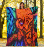 Premium Blanket - Red Ghoul