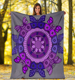 Premium Blanket - Slaya Collection - Butterfly Medallion