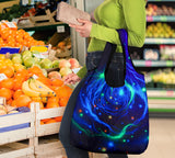 Grocery Bag 3 pack - Space set #5