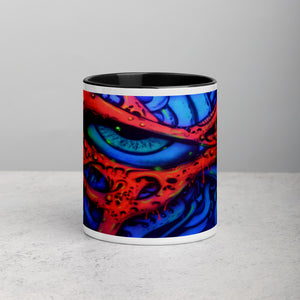 Mug with Color Inside - Eye Intensity