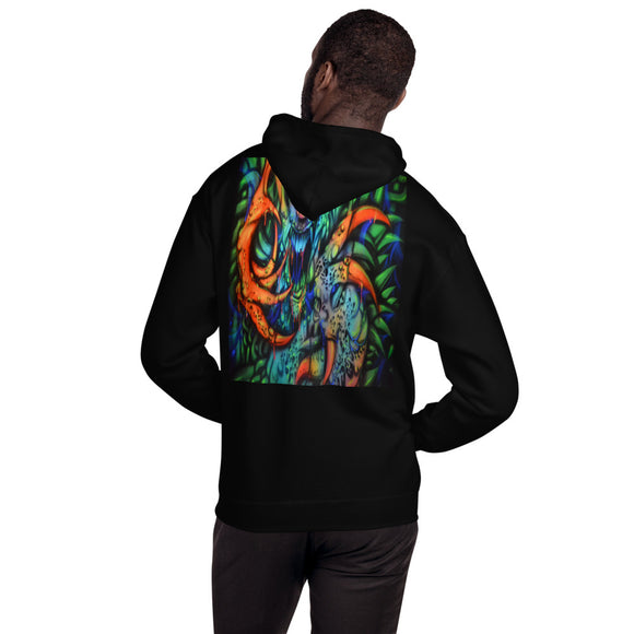 Hooded Sweatshirt - Monster with Claws