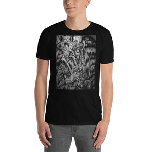 Short-Sleeve Unisex T-Shirt - Monster Within b/w