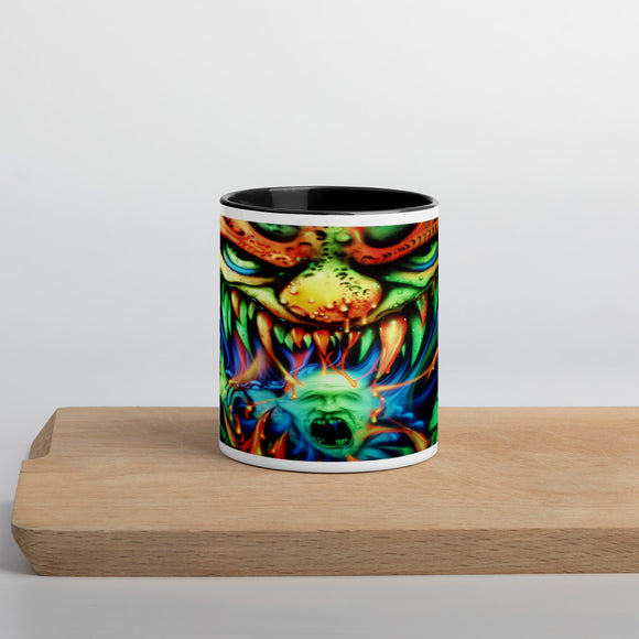 Mug with Color Inside - Monster Feast