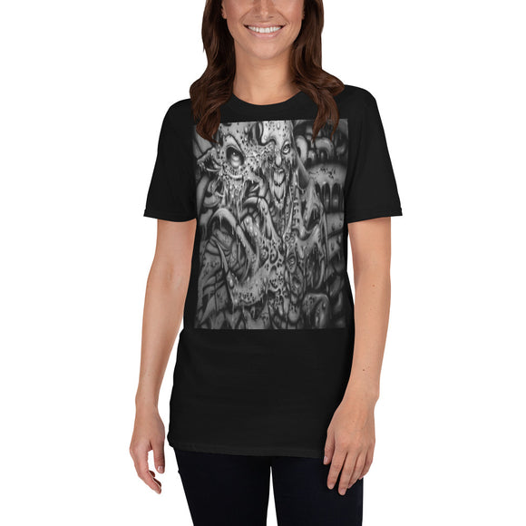 Short-Sleeve Unisex T-Shirt - Monster Within b/w 1
