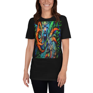 Short-Sleeve Unisex T-Shirt - Monster with Claws 1