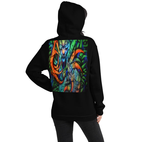 Hooded Sweatshirt - Monster with Claws1