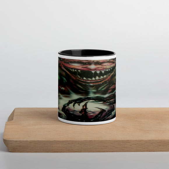 Mug with Color Inside - Bat Boy Rictus