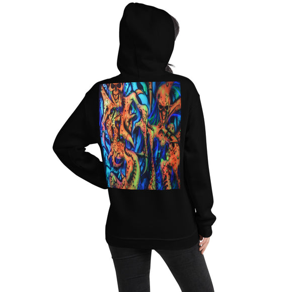 Hooded Sweatshirt - Clawed Creatures1
