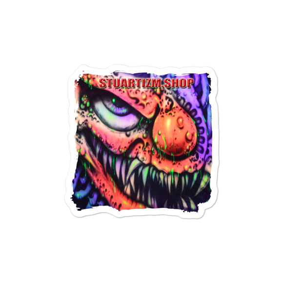 Bubble-free stickers - Clown