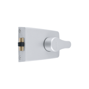 Two Visible Locks on Door. Adding the Arrone 850 Deadbolt above your exisiting lock creates a Visible Burglary Deterrent. Creating additional strength to the door without weakening the door frame. No nibbing feature eliminating the fear of a lock out.