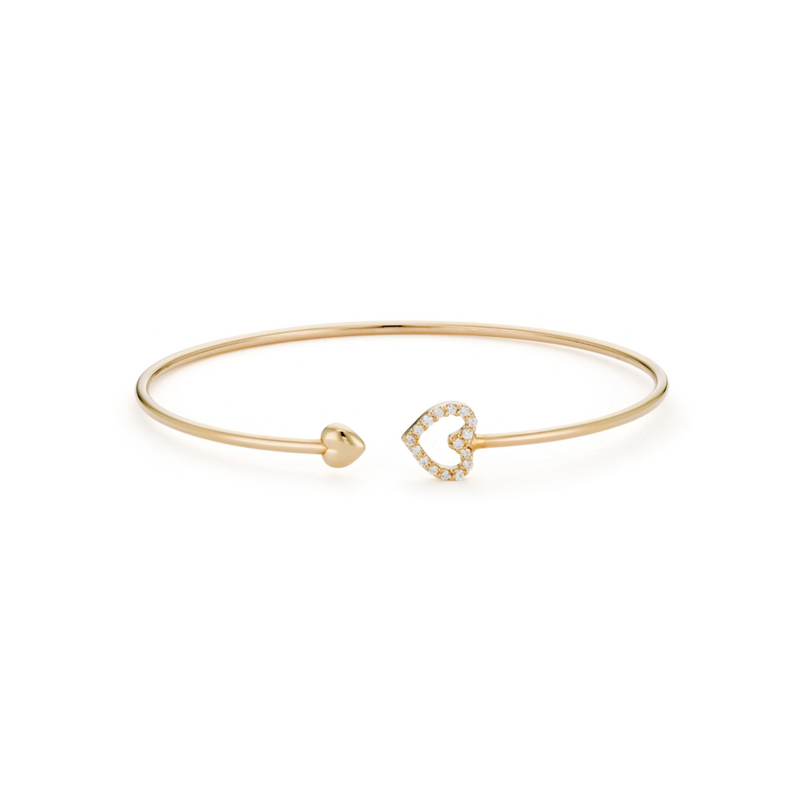 DIAMONDS: Love Bangle