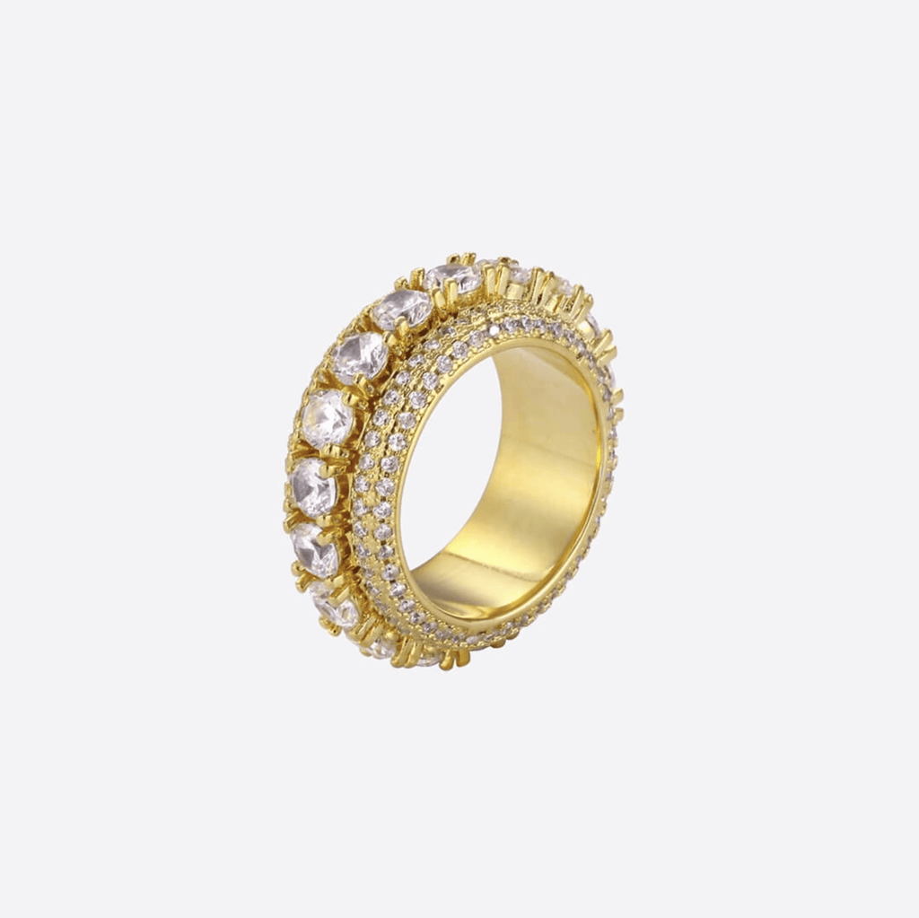 Anillo Giratorio - ORO 18 KILATES