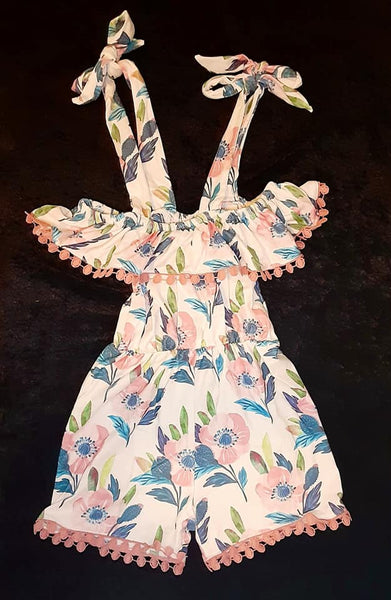 Secret Garden Romper (Infant and Girl sizes)