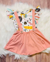 Zoo Suspenders Outfti (ONLY 3T left)
