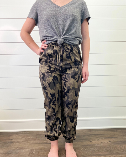 Camo Joggers (Tween size 6 to 16)