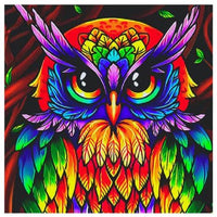 Colorful Owl Diamond Painting