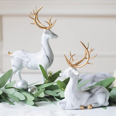 Deesa Deer Art Figurine by Blumsbury Art