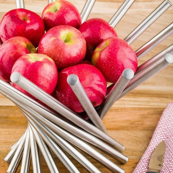 Yamata Collapsible Stainless Steel Fruit Bowl