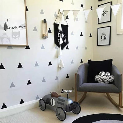 Little Triangles Wall Decal