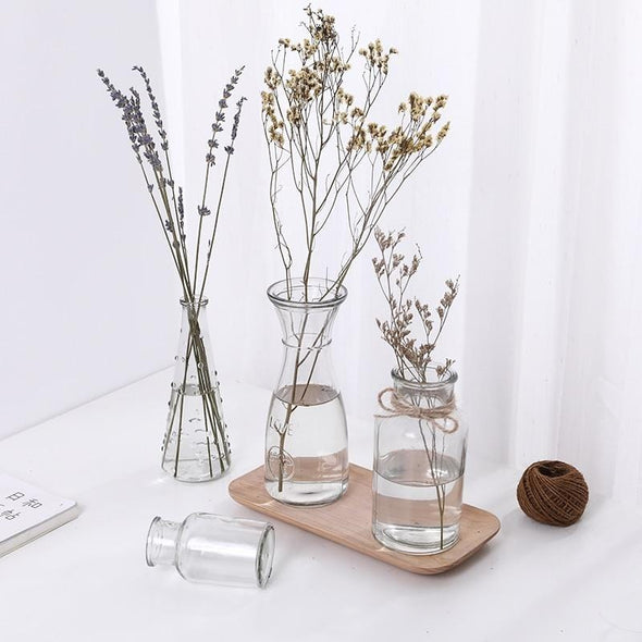 Tirana Glass Table Vase Collection