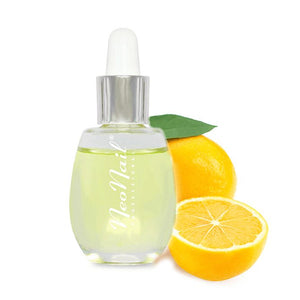 NeoNail - Cuticle oil with a pipette of 15 ml - Lemon
