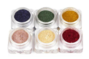 KN - Coloured Magnetic Powder 6 pieces