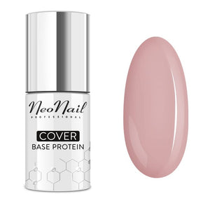 NeoNail - Cover Base Protein Natural Nude UV/LED 7.2ml
