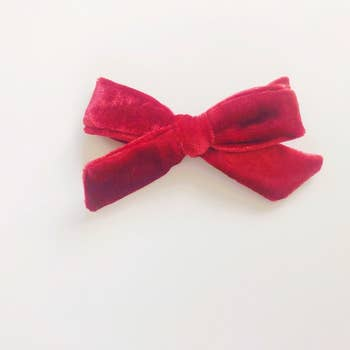 Velvet Bows (Hair Clips)