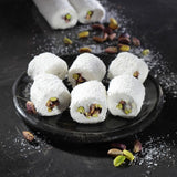 Turkish Delight Sultan Pistachio with Coconut Cover İkbal