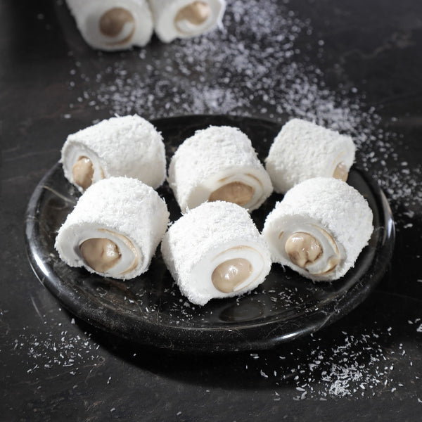Turkish Delight Sultan Hazelnut Paste Coconut Cover İkbal